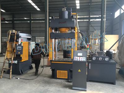 YTK32 CNC أربعة عمود الهيدروليكية الصحافة آلة تخصيص آلة الصحافة الهيدروليكية