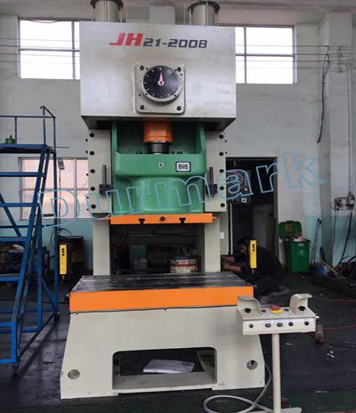 عالية الدقة JH21-45Tons هوائي قوة الصحافة الألومنيوم احباط الحاويات ماكينة