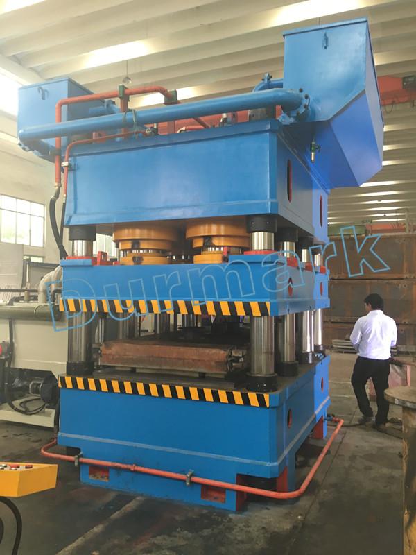 3000t الفولاذ المقاوم للصدأ الباب لوحة النقش آلة ، الباب الهيدروليكي ماكينة