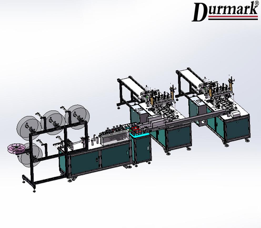 DMK-180 Automatic outer mask making machine (1+2)